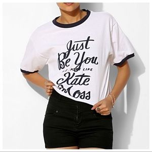 Urban Outfitters The Reason Be Kate Cropped Tee